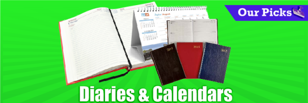 diaries and calendars icon large